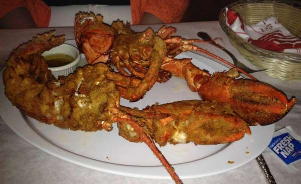 Fried lobster is a specialty at Winston's Bar