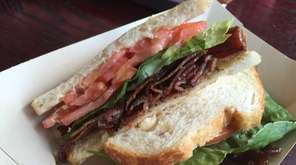 North Fork Bacon and Smokehouse's fine BLT in