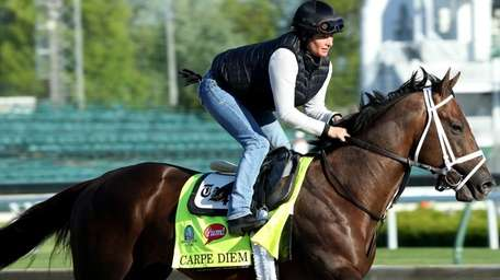 Carpe Diem has pulled out of the Belmont