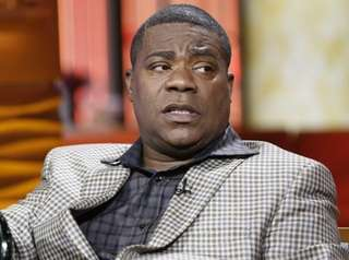 "Tracy Morgan appears on NBC's ""Today"" show on"