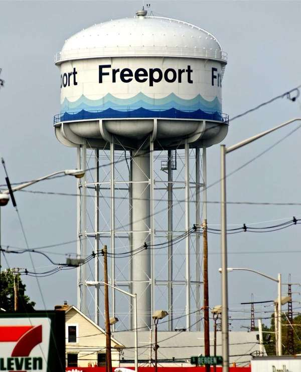 Under an agreement with the Village of Freeport,