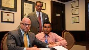 Lawrence S. Youshah, of Nassau County, left, and