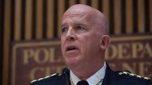NYPD Chief of Department James O'Neill is seen
