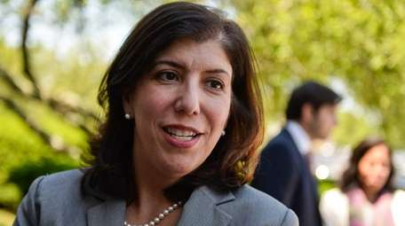 Madeline Singas, who is seeking the Democratic nomination