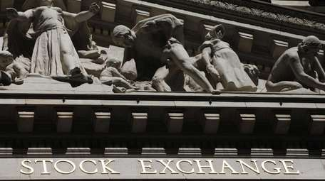 The New York Stock Exchange in Manhattan on