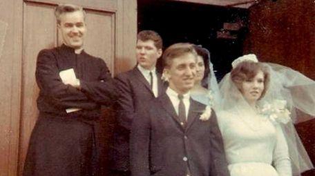 Ken and Ethel Lesko on their wedding day,