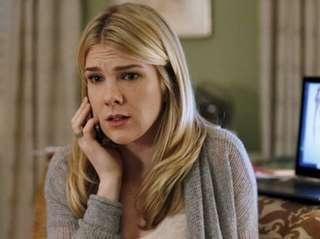 "Lily Rabe as Claire Bennigan in ABC's ""The"