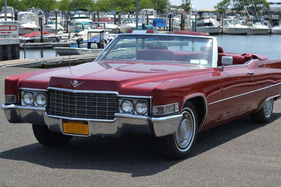 This 1969 Cadillac DeVille convertible owned by Harley