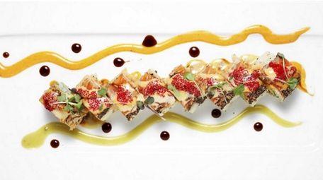 The White Geisha Roll from chef Raymond Tan