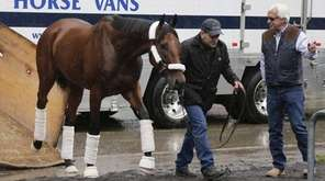 Kentucky Derby and Preakness Stakes winner American Pharoah