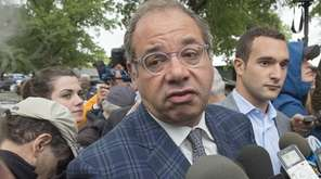 Ahmed Zayat, owner of Triple Crown challenger American