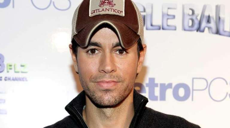 Enrique Iglesias attends 93.3 FLZ's Jingle Ba at