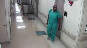 A burglar who went into St. Francis Hospital