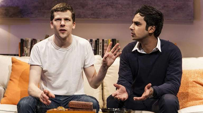 Jesse Eisenberg and Kunal Nayyar star in