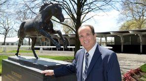New York Racing Association chairman Anthony Bonomo, seen