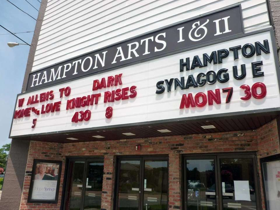 The Hampton Arts Cinema (2 Brook Rd., Westhampton