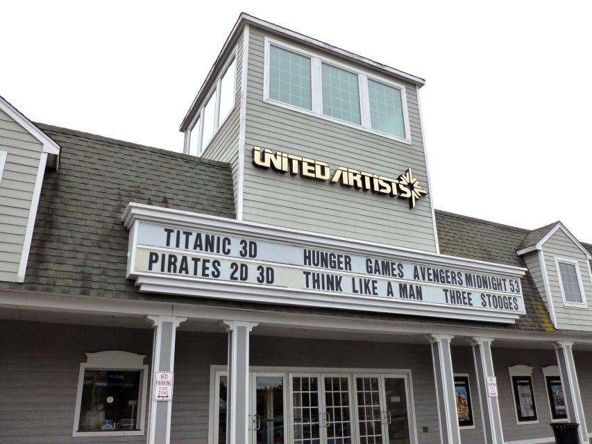 Consisting of five theaters, the UA Hampton Bays