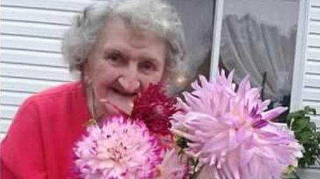 Mary Przybyszewski, an avid gardener and devoted Catholic,