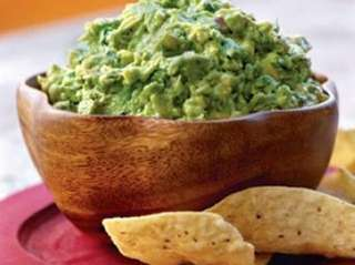 Guacamole with house-made chips is a specialty at