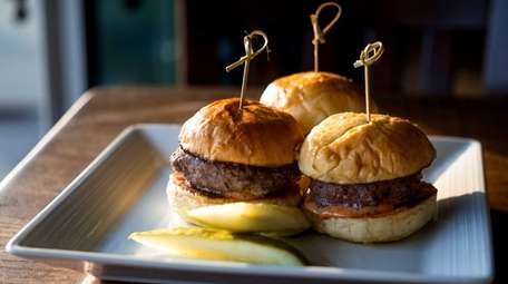 Wagyu sliders are juicy appetizers at Boca Kitchen