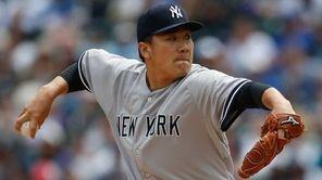 Starting pitcher Masahiro Tanaka of the New York