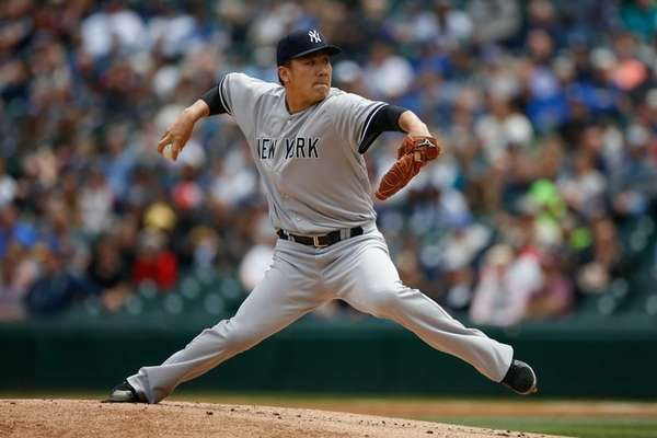 Starting pitcher Masahiro Tanaka of the New York