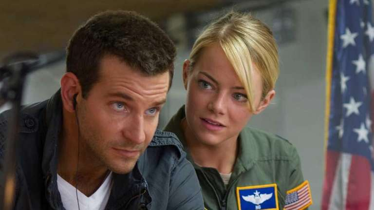 Bradley Cooper and Emma Stone in Cameron Crowe's