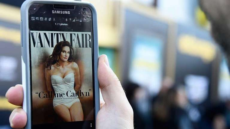 Caitlyn Jenner officially introduced herself to the world