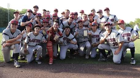 MacArthur players pose for a photo after their