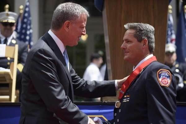 FDNY Capt. Kevin Hogan of Staten Island was