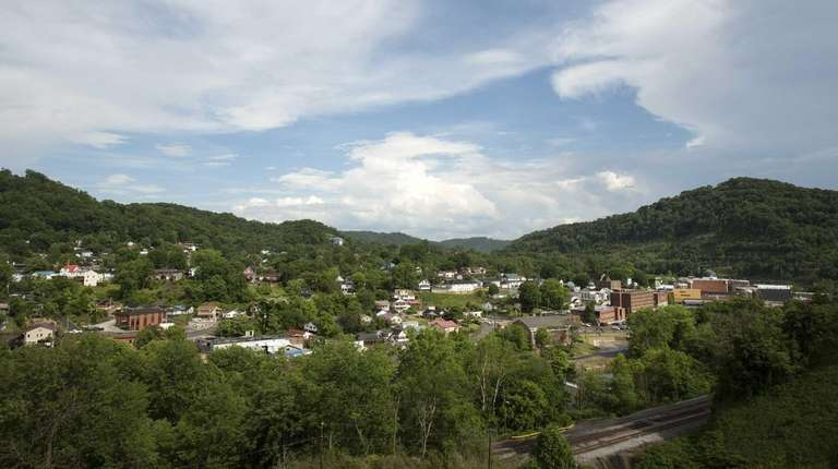 The small city of Hazard, Ky., shown Tuesday,
