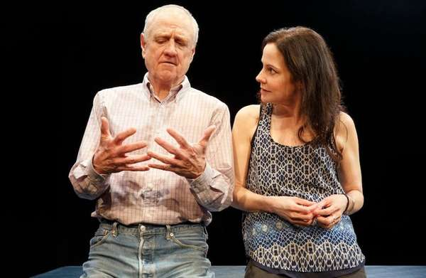 Denis Arndt and Mary-Louise Parker in