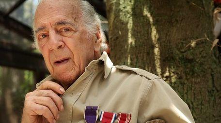 World War II veteran Walter Blum landed on