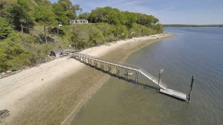 A three-bedroom waterfront house on Winkle Point in
