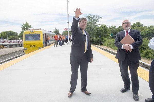 MTA Long Island Rail Road President Patrick A.
