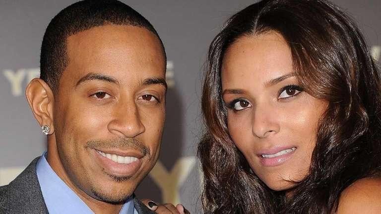 Rapper/actor Ludacris and Eudoxie Agnan arrive at the
