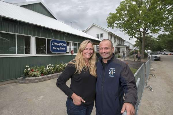 Tonya and John Terranova host the Triple Crown