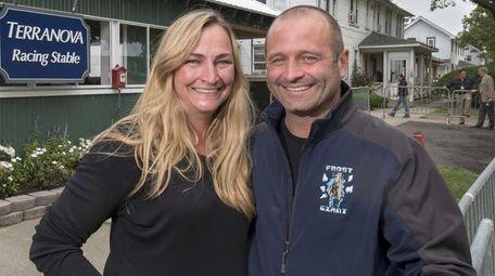 Tonya and John Terranova host the Triple Crown