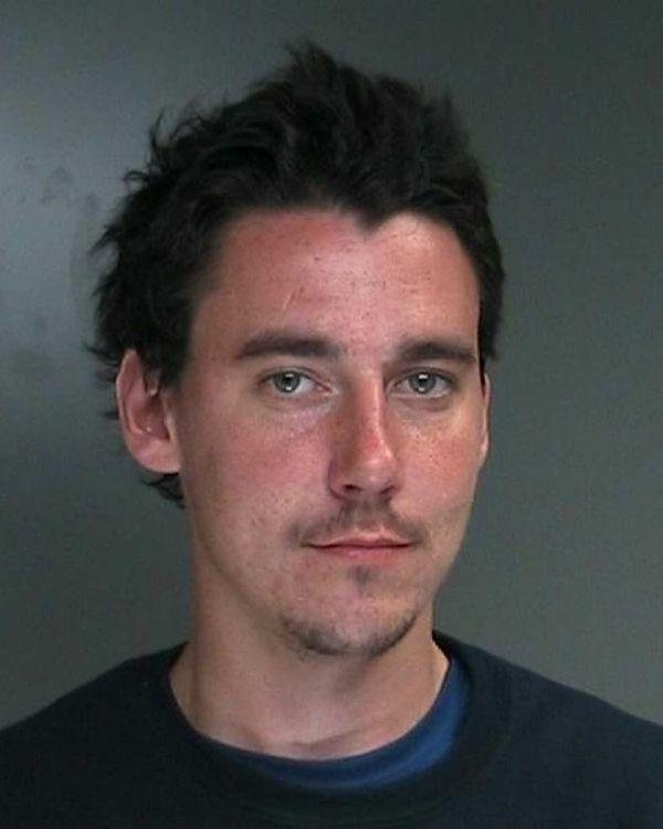 Joseph Broekhuisen, 23, a homeless man, was arrested