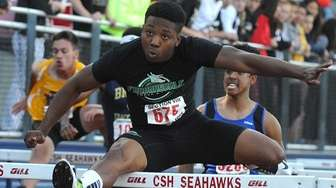 Michael Outing of Farmingdale races to victory in