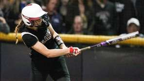 Clarke's Brooke Scherer hits a two-run home run