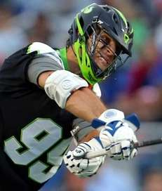 Paul Rabil of the New York Lizards takes