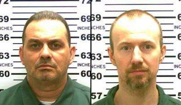 Richard Matt, 48, left, and David Sweat, 34,
