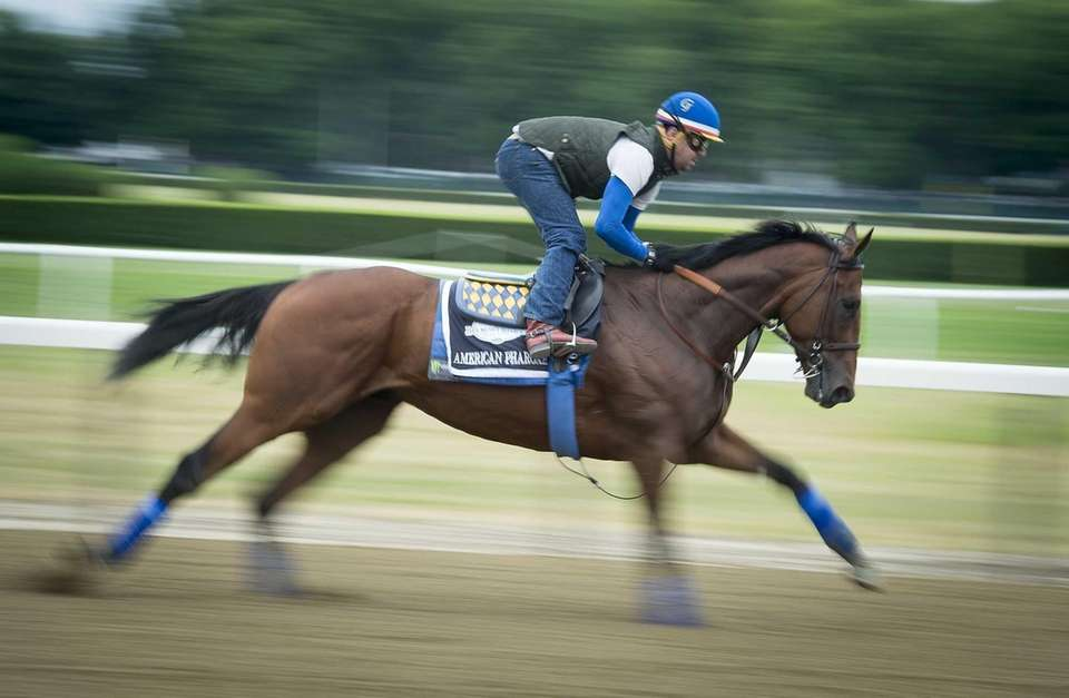 2015: American Pharoah Starting from the fifth post