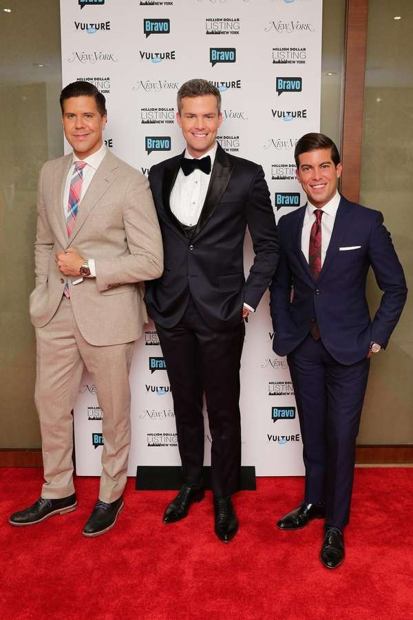 Cast members Fredrik Eklund, Luis D. Ortiz and