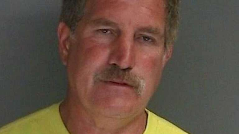 Joseph Leon, 59, of Sayville was arrested and