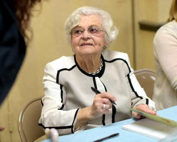 Fanny Lust, 89, has had her Holocaust memoir