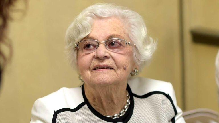Fanny Lust, 89, has had her Holocaust memoir
