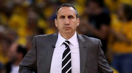 Head coach David Blatt of the Cleveland Cavaliers