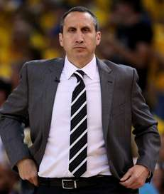 Head coach David Blatt of the Cleveland Cavaliers